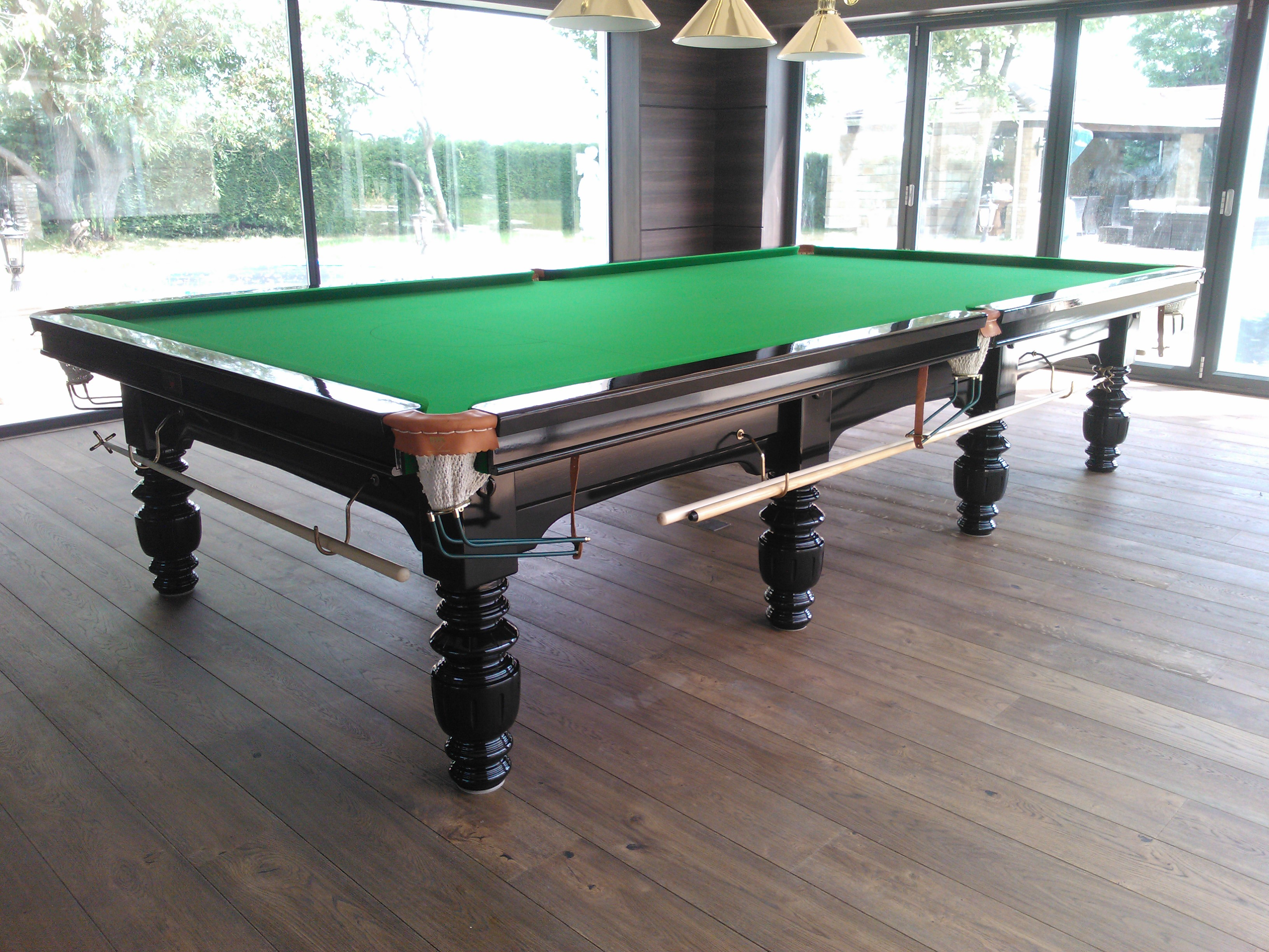 The Gallery The Handmade Snooker Table Company - Kensington pool table